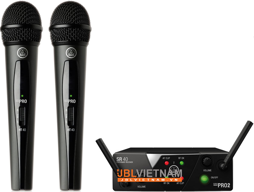 Bộ Micro AKG WMS 40 Mini Dual Vocal