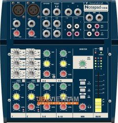 Mixer SOUNDCRAFT Notepad102